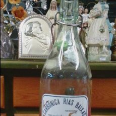 Botellas antiguas: CARBONICA RIAS BAIXAS A.BOA. Lote 53133201