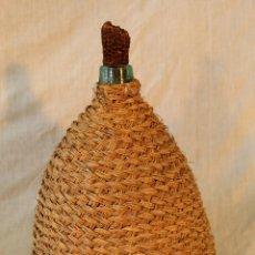 Botellas antiguas: GARRAFA VIRESA CON ESPARTO. Lote 53505455