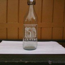 Botellas antiguas: BOTELLA DE GASEOSA C. CASTRO. GOYAN (PONTEVEDRA). Lote 53509232