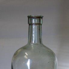 Botellas antiguas: FRASCO BOTELLA DE FARMACIA DE AGARICO BLANCO // AÑOS 20. Lote 53721337