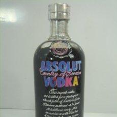 Botellas antiguas: AÑO 2014 BOTELLA VODKA - ABSOLUT EDICION LIMITADA - ANDY WARHOL - ¡¡LLENA ¡¡¡COLECCIÓN. Lote 80419689
