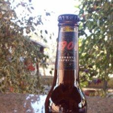 Botellas antiguas: BOTELLA DE CERVEZA SIN ABRIR, CERVEZA ESPACIAL RESERVA, 33 CLS. Lote 53830830