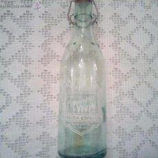 Botellas antiguas: BOTELLA ESPUMOSOS VIVES. Lote 54214299