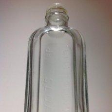Botellas antiguas: ANTIGUA BOTELLA DE *LINIMENTO SLOAN * LETRAS EN RELIEVE. Lote 54246707