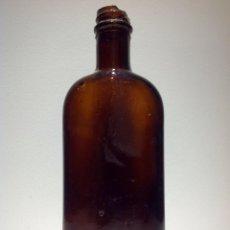 Botellas antiguas: BOTELLA, MEDICINA, FAMACEUTICA LABORATORIO EGABRO CABRA CORDOBA. Lote 54342554