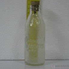 Botellas antiguas: ANTIGUA BOTELLA CRISTAL DE BITTER MARTINI SODA (INSCRIPCIÓN REPUJADA EN BOTELLA). Lote 54618519