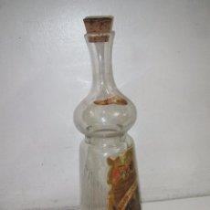 Botellas antiguas: ANTIGUA BOTELLA CON GRIFO PARA LICORES A GRANEL DE RICARDO SANZ FCA. DE JARABES Y LICORES DE JATIVA. Lote 55819547
