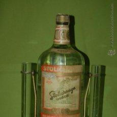 Botellas antiguas: BOTELLA DE VODKA STOLICHNAYA. Lote 54951853