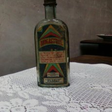 Botellas antiguas: FRASCO BIOGASTROL.LABORATORIO EGABRO. CABRA (CÓRDOBA). Lote 55059627