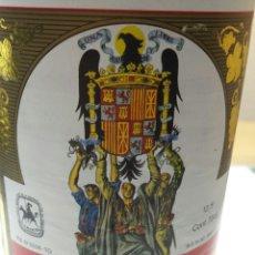Botellas antiguas: BOTELLA DE VINO DE LAS JONS. Lote 55145301