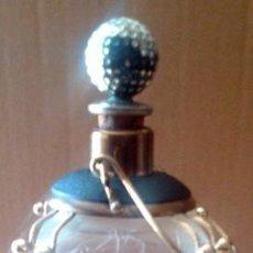 Botellas antiguas: ANTIGUA BOTELLA DE VIDRIO MUSICAL . Lote 55377627