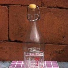 Botellas antiguas: GASEOSA FONTALDE. PUEBLA DE SAN JULIÁN. LUGO. Lote 56003428