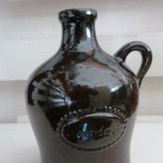 Botellas antiguas: BOTELLA BRANDEVIR VIDRIADA TIPO GARRAFA CON ASA. Lote 56887764