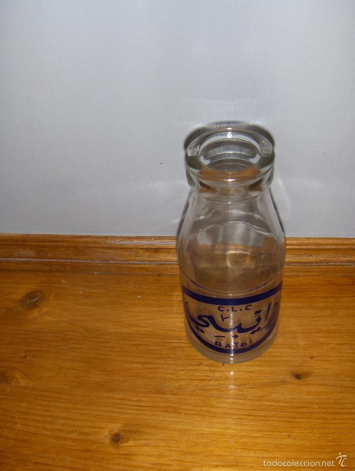 Botellas antiguas: RAIBI CLC, ANTIGUA BOTELLA DE ZUMO. MANUFACTURADA POR DANONE PARA MARRUECOS. - Foto 2 - 57111582