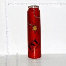 Botellas antiguas: BOTELLA VACIA DE CRISTAL DE BEBIDA ENERGETICA TNT. Lote 57147903