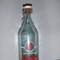 Botellas antiguas: BOTELLA DE GASEOSA LA CASERA MARROQUI. MARRUECOS, ARABE.. Lote 57263527