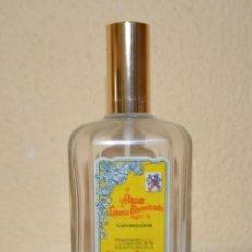 Botellas antiguas: FRASCO DE COLONIA DE LA PERFUMERÍA ALVÁREZ GÓMEZ. Lote 57290750