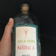 Botellas antiguas: BOTELLA DE COLONIA NATURAL A. BYC S.L. BARCELONA. PARA LA VENTA A GRANEL. Lote 57303564