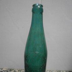 Botellas antiguas: BOTELLA INDUSTRIAS REUNIDAS TORRES LERIDA LETRAS EN RELIEVE. Lote 57625686