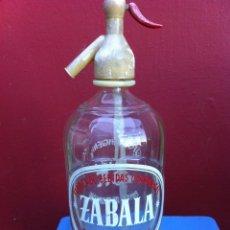 Botellas antiguas: SIFÓN (ZABALA) PUENTECESURES.. Lote 173071074