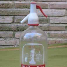 Botellas antiguas: SIFON ANTIGUO MARCA : LA REVOLTOSA - MADRID.. Lote 57934683