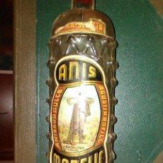 Botellas antiguas: ANTIGUA BOTELLA NUDOS ANÍS MANELIC ANISADO DULCE AGUSTÍN BOFILL BADALONA. Lote 195342490