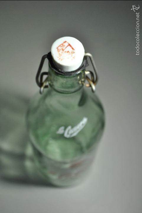 Botellas antiguas: BOTELLA DE GASEOSA LA CASERA - Foto 6 - 58554576