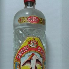 Botellas antiguas: ANIS MARABÚ.MIERES DEL CAMINO ASTURIAS.BERNALDO DE QUIROS. Lote 192442777