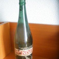 Botellas antiguas: BOTELLA LITRO AGUAS DE MONDARIZ - GANDARA Y TRONCOSO - AÑOS 60.. Lote 58871221
