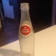 Botellas antiguas: BOTELLA REFRESCOS ROYAL CROWN. Lote 59716631