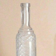 Botellas antiguas: BOTELLA LICOR RELIEVES. Lote 59745157