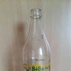 Botellas antiguas: BOTELLA SERIGRAFIADA BEBE JACQUET 0,5 LITROS.. Lote 59769368
