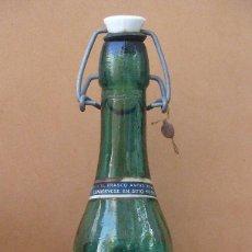 Botellas antiguas: ANTIGUA BOTELLA DE FARMACIA - GENOLACTOSIL, LABORATORIOS PARDO, VALENCIA, AÑO 1954. Lote 59918067