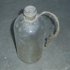Botellas antiguas: BOTELLA ANTIGUA DE CRISTAL, 1 LITRO APROX.. Lote 60641347