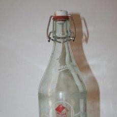 Botellas antiguas: ANTIGUA BOTELLA DE GASEOSA LA CASERA, 1 LITRO, CRISTAL. Lote 60642067