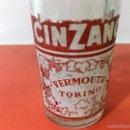 Botellas antiguas: BOTELLA CINZANO VERMOUTH TORINO. Lote 61237367