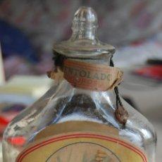Botellas antiguas: FRASCO FLOÏD LOCIÓN PARA DESPUÉS DEL AFEITADO BARBERÍA // MUY ANTIGUO. Lote 61703732