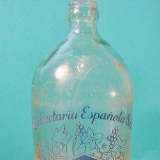 Botellas antiguas: BOTELLA LECHE RAM 1 L.. SUCURSAL PASEO TRIUNFO. BARCELONA. Lote 62185408