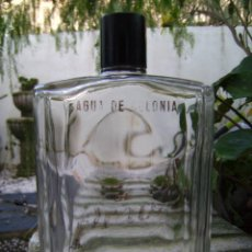 Botellas antiguas: ANTIGUA BOTELLA COLONIA GRANDE DE 1 LITRO HENO DE PRAVIA. Lote 63354076