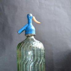 Botellas antiguas: BOTELLA DE SIFON LA BEGOÑINA GIJON ASTURIAS. Lote 114965684