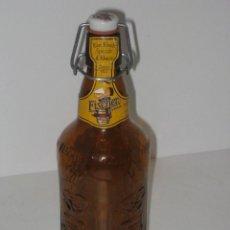 Botellas antiguas: BOTELLA FISCHER VACIA. Lote 66072434