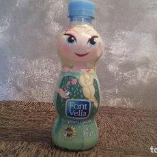 Botellas antiguas: BOTELLA PLÁSTICA VACÍA DE AGUA FONTVELLA 33 CL. · SERIE FROZEN: ELSA. Lote 66201182