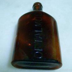 Botellas antiguas: ANTIGUA BOTELLA DE OFTALMOL. Lote 66219234