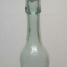 Botellas antiguas: BOTELLA LA JUVENTUD GASEOSA Y AGUA SELTZ RARA Y MUY ESCASA. Lote 67535695