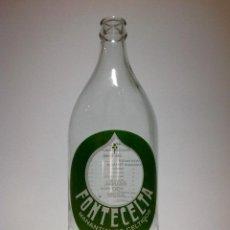 Botellas antiguas: BOTELLA DE AGUA FONTECELTA, 1L. Lote 69389721