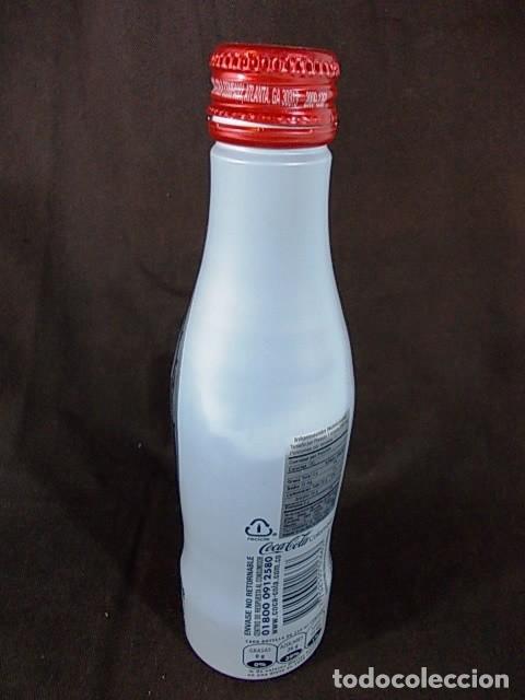 Botellas antiguas: BOTELLA DE COCACOLA DE COLOMBIA EN ALUMINIO - Foto 3 - 69482101