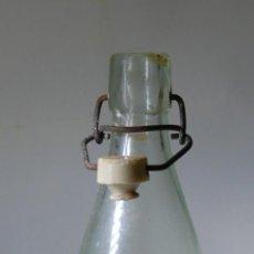 Botellas antiguas: BOTELLA DE GASEOSA EL FAISÁN DE SALAMANCA 1/2 L. Lote 70254701