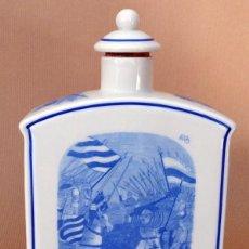 Botellas antiguas: BOTELLA PORCELANA BAGER KIRLCH ALEMANA. Lote 70277477