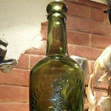 Botellas antiguas: BOTELLA RELIVE THOMAS LYON & SON, PRESCOT, CERVEZA???. MUY BONITA. Lote 71926187