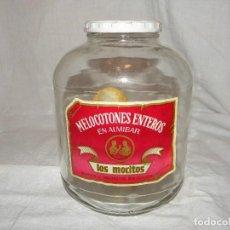 Botellas antiguas: BOTE LOS MOCITOS - LORQUI. Lote 72155335